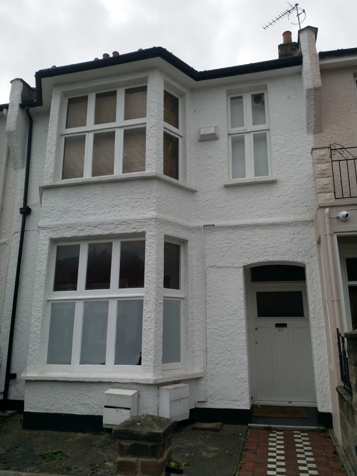 Subsidence affected home in London